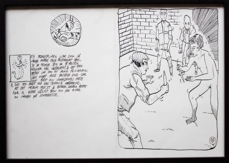 Billeder af tegneserie med sex