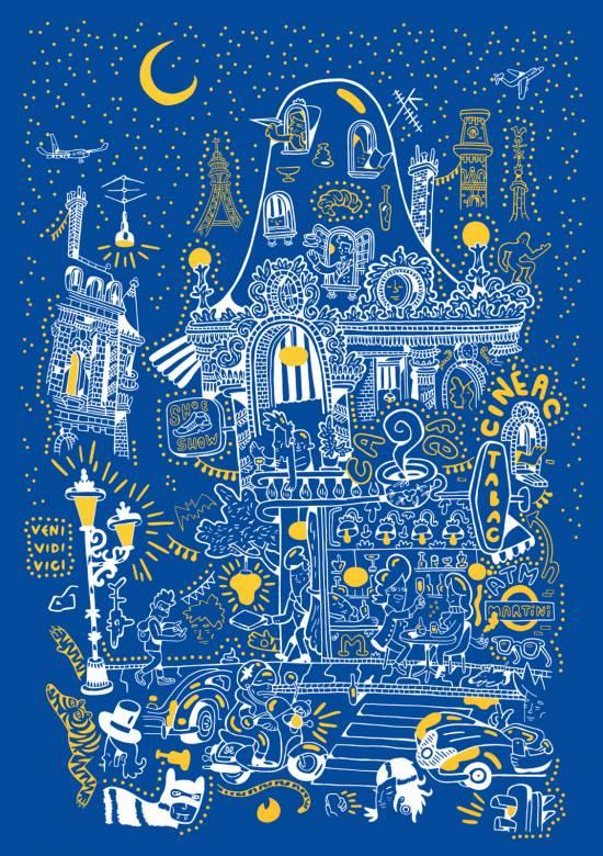 kunsttryk, silketryk, dyr, farverige, børnevenlige, figurative, grafiske, illustrative, pop, arkitektur, botanik, tegneserier, børn, mennesker, blå, hvide, gule, akryl, papir, sjove, bygninger, biler, byer, samtidskunst, sød, dansk, interiør, bolig-indretning, moderne, nordisk, plakater, skandinavisk, Køb original kunst og kunstplakater. Malerier, tegninger, limited edition kunsttryk & plakater af dygtige kunstnere.