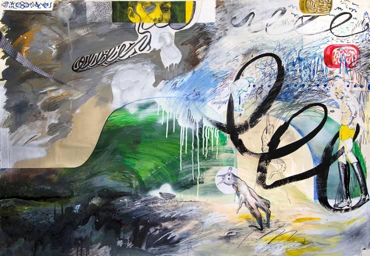 malerier, ekspressionistiske, grafiske, stemninger, bevægelse, natur, blå, grønne, grå, artliner, papir, tusch, olie, blyant, abstrakte-former, ansigter, sceneri, Køb original kunst af den højeste kvalitet. Malerier, tegninger, limited edition kunsttryk & plakater af dygtige kunstnere.