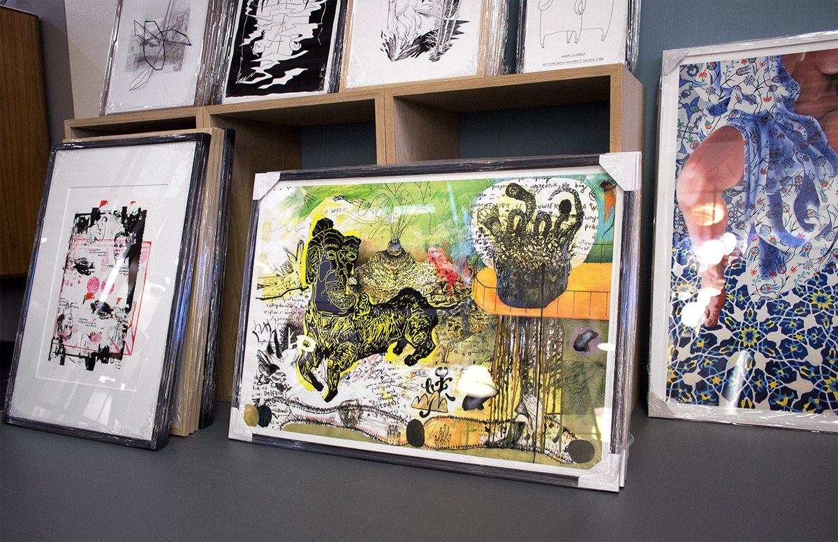 Buy limited edition art posters and prints | Køb kunstplakater, kunsttryk og plakater online - The Pier - Piotr Dudek - Truth 1 - Louise Bech Pedersen