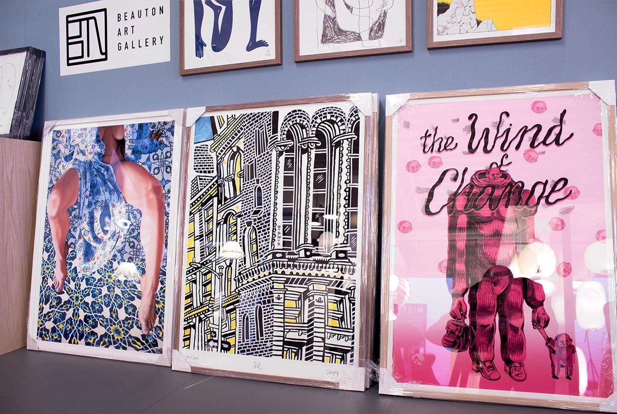 Buy limited edition art posters and prints | Køb kunstplakater, kunsttryk og plakater online mormor piotr dudek alexandra kalisz