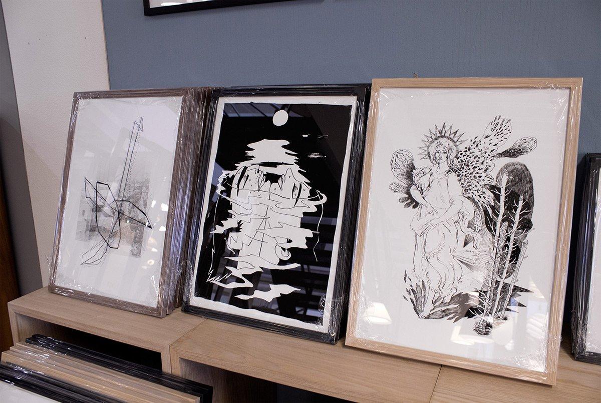 Buy limited edition art posters and prints | Køb kunstplakater, kunsttryk og plakater online tina-louise-hunderup-halfdan-pisket-louise-bech-pedersen