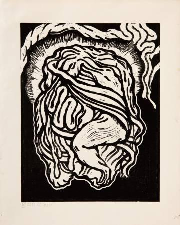 abstrakt tegning, hjerte, sort, stærk, dyster, mørk, moderne, hype, talentfulde og dygtige kunstnere, original.