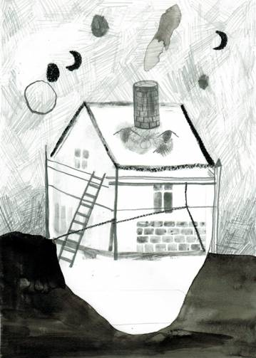 tegninger, æstetiske, børnevenlige, landskab, monokrome, arkitektur, himmel, sorte, grå, hvide, papir, blyant, andre-medier, arkitektoniske, mørke, dekorative, huse, interiør, bolig-indretning, Køb original kunst og kunstplakater. Malerier, tegninger, limited edition kunsttryk & plakater af dygtige kunstnere.