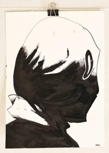 Litteratur pris desertør Stærke og udtryksfulde kunst illustrationer og tegninger, dygtig dansk illustrator, tegner, faverige
