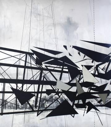 Maleri, fragmentering, dynamik, strukturer og historie.