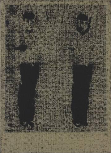 malerier, figurative, portræt, mennesker, sorte, grå,  bomuldslærred, olie, samtidskunst, dansk, dekorative, design, interiør, bolig-indretning, børn, moderne, moderne-kunst, nordisk, obskurt, skandinavisk, Køb original kunst og kunstplakater. Malerier, tegninger, limited edition kunsttryk & plakater af dygtige kunstnere.
