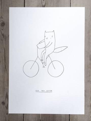 udtryksfulde kunst illustrationer og tegninger, dygtig dansk illustrator, tegner