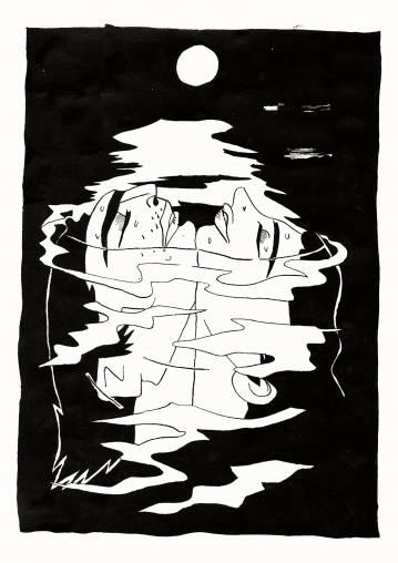plakater-posters-kunsttryk, giclee-tryk, ekspressionistiske, figurative, illustrative, portræt, kroppe, natur, havet, mennesker, sorte, hvide, blæk, papir, smukke, sort-hvide, samtidskunst, dansk, dekorative, design, ansigter, interiør, bolig-indretning, kærlighed, moderne, moderne-kunst, nordisk, plakater, skandinavisk, vand, Køb original kunst og kunstplakater. Malerier, tegninger, limited edition kunsttryk & plakater af dygtige kunstnere.