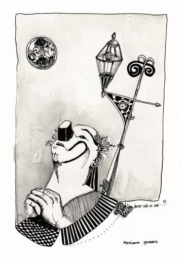 tegninger, æstetiske, ekspressionistiske, figurative, illustrative, monokrome, stemninger, mennesker, sorte, grå, hvide, blæk, papir, kalligrafi, samtidskunst, dansk, dekorative, design, interiør, bolig-indretning, moderne, moderne-kunst, nordisk, skandinavisk, Køb original kunst og kunstplakater. Malerier, tegninger, limited edition kunsttryk & plakater af dygtige kunstnere.