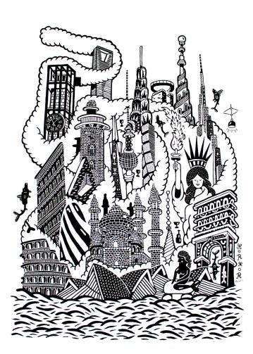 kunsttryk, gicleé, børnevenlige, geometriske, arkitektur, humor, havet, mønstre, sorte, hvide, blæk, papir, sjove, arkitektoniske, dansk, dekorative, design, fisk, interiør, bolig-indretning, moderne, moderne-kunst, nordisk, plakater, skandinavisk, vand, Køb original kunst og kunstplakater. Malerier, tegninger, limited edition kunsttryk & plakater af dygtige kunstnere.