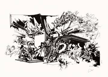 kunsttryk, gicleé, æstetiske, grafiske, monokrome, arkitektur, botanik, mønstre, sorte, hvide, blæk, papir, abstrakte-former, sort-hvide, bygninger, byer, dekorative, design, interiør, bolig-indretning, Køb original kunst og kunstplakater. Malerier, tegninger, limited edition kunsttryk & plakater af dygtige kunstnere.