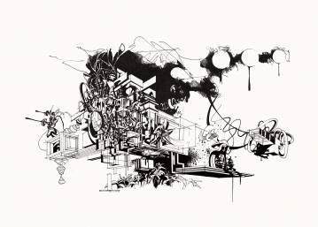 kunsttryk, gicleé, æstetiske, geometriske, grafiske, monokrome, arkitektur, botanik, natur, mønstre, sorte, hvide, blæk, papir, abstrakte-former, arkitektoniske, sort-hvide, bygninger, samtidskunst, dansk, dekorative, design, interiør, bolig-indretning, moderne, moderne-kunst, nordisk, planter, skandinavisk, sceneri, Køb original kunst og kunstplakater. Malerier, tegninger, limited edition kunsttryk & plakater af dygtige kunstnere.