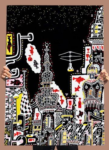 plakater-posters-kunsttryk, giclee-tryk, farverige, børnevenlige, figurative, illustrative, pop, arkitektur, tegneserier, humor, sejlads, vilde-dyr, sorte, røde, hvide, blæk, papir, sjove, smukke, både, bygninger, forretning, byer, samtidskunst, københavn, sød, design, fisk, interiør, bolig-indretning, nordisk, skandinavisk, Køb original kunst og kunstplakater. Malerier, tegninger, limited edition kunsttryk & plakater af dygtige kunstnere.