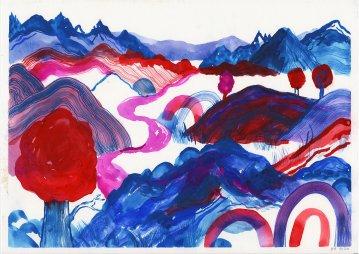 tegninger, akvarel-malerier, æstetiske, farverige, børnevenlige, figurative, landskab, botanik, natur, mønstre, blå, røde, turkise, violette, blæk, akvarel, smukke, dansk, dekorative, design, skov, moderne, moderne-kunst, nordisk, plakater, flotte, tryk, skandinavisk, Køb original kunst og kunstplakater. Malerier, tegninger, limited edition kunsttryk & plakater af dygtige kunstnere.