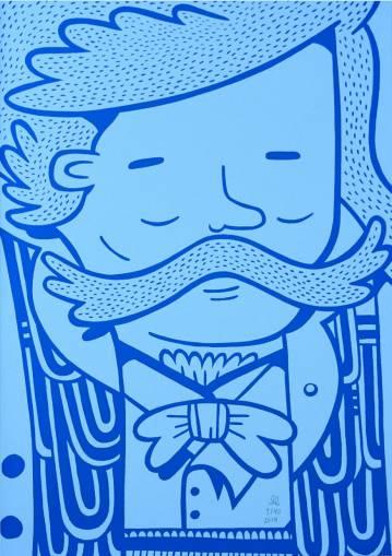 kunsttryk, silketryk, børnevenlige, figurative, illustrative, monokrome, pop, tegneserier, humor, mennesker, blå, turkise, akryl, papir, sjove, samtidskunst, københavn, dansk, dekorative, design, ansigter, interiør, bolig-indretning, moderne, moderne-kunst, nordisk, pop-art, plakater, tryk, skandinavisk, urban, Køb original kunst og kunstplakater. Malerier, tegninger, limited edition kunsttryk & plakater af dygtige kunstnere.
