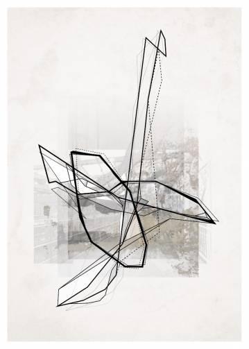 kunsttryk, fotografier, collager, new-media, abstrakte, geometriske, grafiske, monokrome, arkitektur, brune, grå, blæk, papir, abstrakte-former, arkitektoniske, sort-hvide, bygninger, byer, dekorative, design, interiør, bolig-indretning, naturlig, Køb original kunst af den højeste kvalitet. Malerier, tegninger, limited edition kunsttryk & plakater af dygtige kunstnere.