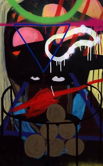 malerier, abstrakte, farverige, geometriske, pop, mønstre, sorte, blå, røde, akryl, tusch, spraymaling, træ, abstrakte-former, samtidskunst, dansk, dekorative, design, interiør, bolig-indretning, moderne, moderne-kunst, nordisk, skandinavisk, street-art, levende, Køb original kunst og kunstplakater. Malerier, tegninger, limited edition kunsttryk & plakater af dygtige kunstnere.
