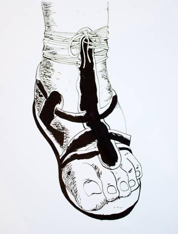 tegninger, figurative, illustrative, monokrome, kroppe, tegneserier, hverdagsliv, sorte, grå, hvide, artliner, papir, tusch, sort-hvide, mænd, Køb original kunst af den højeste kvalitet. Malerier, tegninger, limited edition kunsttryk & plakater af dygtige kunstnere.