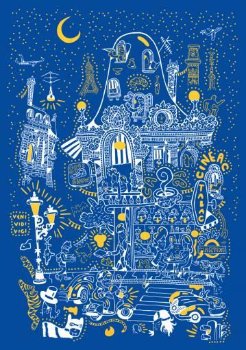 kunsttryk, silketryk, dyr, farverige, børnevenlige, figurative, grafiske, illustrative, pop, arkitektur, botanik, tegneserier, børn, mennesker, blå, hvide, gule, akryl, papir, sjove, bygninger, biler, byer, samtidskunst, københavn, sød, dansk, interiør, bolig-indretning, moderne, nordisk, plakater, tryk, skandinavisk, Køb original kunst og kunstplakater. Malerier, tegninger, limited edition kunsttryk & plakater af dygtige kunstnere.