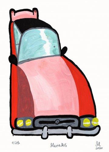 plakater-posters-kunsttryk, giclee-tryk, børnevenlige, figurative, grafiske, illustrative, pop, tegneserier, humor, bevægelse, transportmidler, pink, røde, blæk, papir, sjove, biler, samtidskunst, dansk, dekorative, interiør, bolig-indretning, moderne, moderne-kunst, nordisk, plakater, skandinavisk, Køb original kunst og kunstplakater. Malerier, tegninger, limited edition kunsttryk & plakater af dygtige kunstnere.