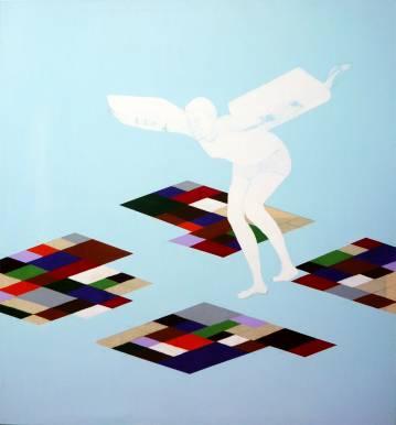 Kraftige farver, store og flotte malerier, talentfulde kunstnere, moderne online kunst galleri