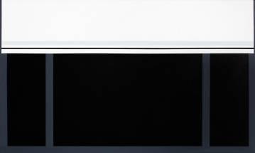 bedste kunst online, æstetisk minimalistisk maleri, enkelt, stilrent, linjer, sort, hvid, grafisk, design