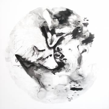 malerier, æstetiske, dyr, figurative, grafiske, illustrative, minimalistiske, monokrome, dyreliv, bevægelse, mønstre, vilde-dyr, sorte, hvide, akryl,  bomuldslærred, abstrakte-former, sort-hvide, samtidskunst, dansk, dekorative, design, interiør, bolig-indretning, moderne, moderne-kunst, nordisk, skandinavisk, Køb original kunst og kunstplakater. Malerier, tegninger, limited edition kunsttryk & plakater af dygtige kunstnere.