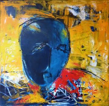 Kunst, Abstrakt maleri, ekspressionistisk, kraftige farver, store malerier, talentfulde kunstnere, online kunstgalleri