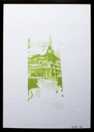 plakater-posters-kunsttryk, giclee-tryk, ekspressionistiske, geometriske, arkitektur, grønne, hvide, papir, abstrakte-former, arkitektoniske, bygninger, ekspressionisme, Køb original kunst og kunstplakater. Malerier, tegninger, limited edition kunsttryk & plakater af dygtige kunstnere.