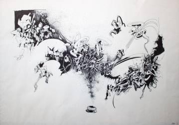 tegninger, æstetiske, ekspressionistiske, grafiske, illustrative, monokrome, arkitektur, botanik, tegneserier, bevægelse, mønstre, sorte, hvide, blæk, papir, tusch, abstrakte-former, arkitektoniske, sort-hvide, samtidskunst, dansk, dekorative, interiør, bolig-indretning, moderne, moderne-kunst, nordisk, skandinavisk, street-art, Køb original kunst og kunstplakater. Malerier, tegninger, limited edition kunsttryk & plakater af dygtige kunstnere.