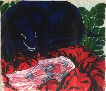 malerier, æstetiske, figurative, illustrative, landskab, pop, botanik, vilde-dyr, sorte, grønne, røde, akryl, stof, blomster, planter, vilde-dyr, Køb original kunst og kunstplakater. Malerier, tegninger, limited edition kunsttryk & plakater af dygtige kunstnere.
