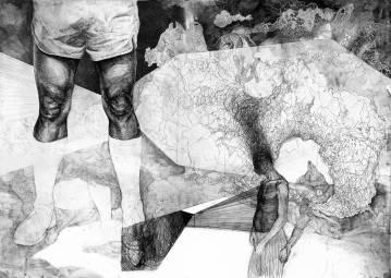 kunsttryk, gliceé, æstetiske, figurative, illustrative, monokrome, kroppe, hverdagsliv, natur, sorte, grå, hvide, blæk, papir, abstrakte-former, sort-hvide, sceneri, Køb original kunst af den højeste kvalitet. Malerier, tegninger, limited edition kunsttryk & plakater af dygtige kunstnere.