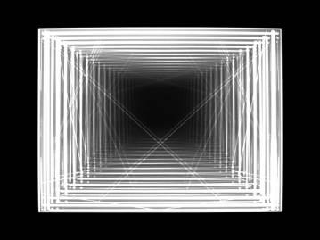 lys mønster kvadrat firkanter mønster 3d streger landskab by tårne skygger 3d gentagelse struktur Sort hvide grå foto kunstfotografi grafiske minimalistiske visuelle former cirkel