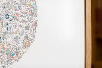 illustration, detalje, farve, tålmodighed, verden, arkitektur, fortælling, Rochester, poesi, Rochester, lille, blæk, new york, København, Århus, kunst herning