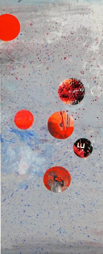 malerier, abstrakte, geometriske, grafiske, mønstre, blå, grå, røde,  bomuldslærred, olie, abstrakte-former, atmosfære, samtidskunst, dansk, design, interiør, bolig-indretning, moderne, moderne-kunst, nordisk, pop-art, skandinavisk, Køb original kunst og kunstplakater. Malerier, tegninger, limited edition kunsttryk & plakater af dygtige kunstnere.