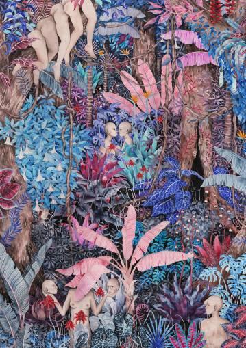 kunsttryk, gliceé, æstetiske, farverige, figurative, landskab, portræt, kroppe, botanik, natur, seksualitet, blå, brune, pink, turkise, blæk, papir, samtidskunst, dansk, dekorative, erotiske, blomster, skov, interiør, bolig-indretning, moderne, moderne-kunst, nordisk, planter, skandinavisk, sceneri, seksuel, levende, Køb original kunst og kunstplakater. Malerier, tegninger, limited edition kunsttryk & plakater af dygtige kunstnere.