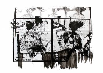 kunsttryk, gliceé, abstrakte, figurative, portræt, kroppe, mennesker, sorte, hvide, blæk, papir, ansigter, piger, kvinder, Køb original kunst af den højeste kvalitet. Malerier, tegninger, limited edition kunsttryk & plakater af dygtige kunstnere.