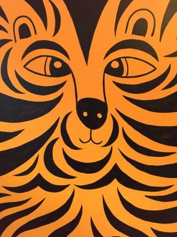 malerier, dyr, børnevenlige, pop, dyreliv, børn, natur, sorte, orange, akryl, hørlærred, sjove, smukke, vilde-dyr, Køb original kunst af den højeste kvalitet. Malerier, tegninger, limited edition kunsttryk & plakater af dygtige kunstnere.