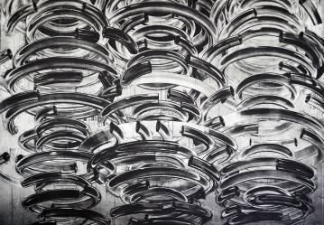 kunsttryk, engraveringer, abstrakte, geometriske, grafiske, monokrome, arkitektur, bevægelse, mønstre, teknologi, sorte, hvide, blæk, papir, abstrakte-former, arkitektoniske, smukke, samtidskunst, dansk, dekorative, design, interiør, bolig-indretning, moderne, moderne-kunst, nordisk, skandinavisk, Køb original kunst og kunstplakater. Malerier, tegninger, limited edition kunsttryk & plakater af dygtige kunstnere.