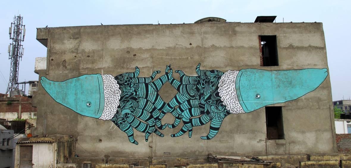 store smukke Wall maleri Street Art / Graffiti / Murals / Malerier / Tegninger