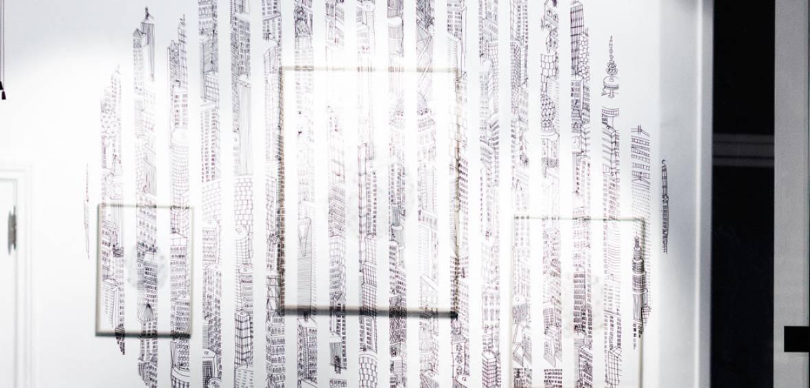window drawing, vinduestegning, udsmykning, illustration, kunst, tegning, galleri