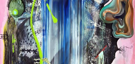 malerier, abstrakte, farverige, ekspressionistiske, botanik, stemninger, bevægelse, blå, grønne, pink,  bomuldslærred, olie, abstrakte-former, københavn, dansk, dekorative, design, ekspressionisme, ansigter, interiør, bolig-indretning, nordisk, skandinavisk, levende, Køb original kunst og kunstplakater. Malerier, tegninger, limited edition kunsttryk & plakater af dygtige kunstnere.