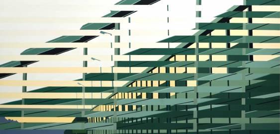malerier, farverige, geometriske, grafiske, landskab, pop, arkitektur, bevægelse, mønstre, transportmidler, grønne, gule, akryl,  bomuldslærred, olie, arkitektoniske, bygninger, biler, byer, samtidskunst, dansk, design, interiør, bolig-indretning, moderne, moderne-kunst, nordisk, skandinavisk, sceneri, tid, køretøjer, Køb original kunst og kunstplakater. Malerier, tegninger, limited edition kunsttryk & plakater af dygtige kunstnere.