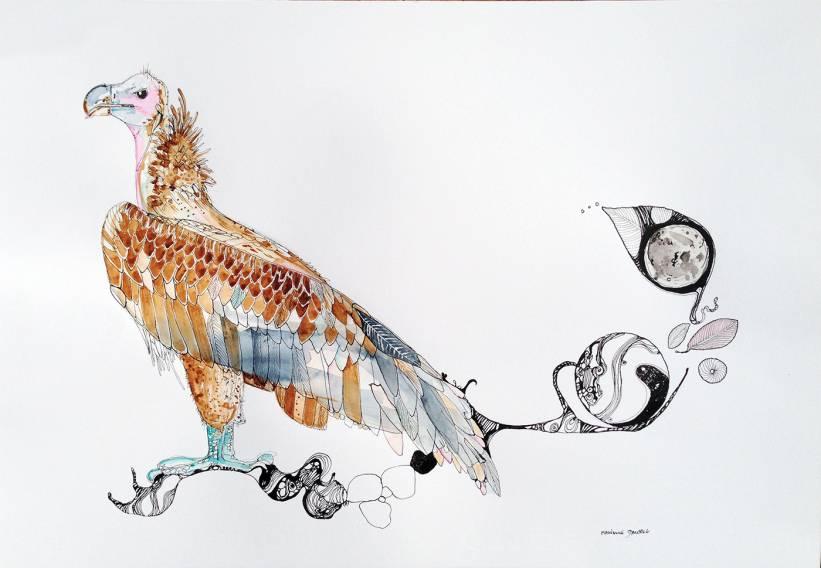 stærke og udtryksfulde kunst illustrationer og tegninger, dygtig dansk illustrator, tegner, faverige
