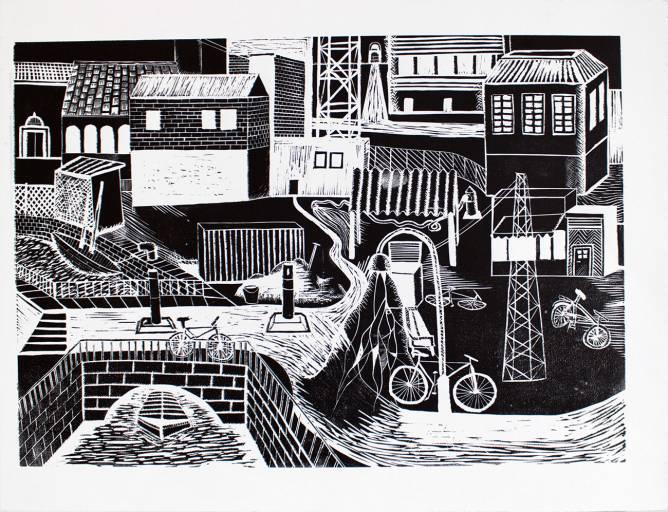 Limited tryk af kunstner Laurits Gulloev for Beauton Art Gallery limited prints drawing art tegning online