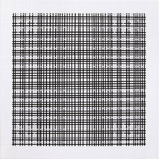 minimalistisk maleri, farverig, enkelt, stilrent, linjer, farver, sort, hvid, streger, grafisk, design