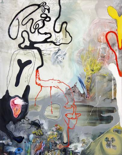 malerier, ekspressionistiske, grafiske, landskab, bevægelse, natur, dyreliv, grå, røde, hvide, gule,  bomuldslærred, olie, abstrakte-former, sceneri, vand, vilde-dyr, Køb original kunst af den højeste kvalitet. Malerier, tegninger, limited edition kunsttryk & plakater af dygtige kunstnere.
