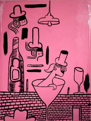 malerier, figurative, pop, portræt, still-life, kroppe, hverdagsliv, humor, sorte, pink, akryl,  bomuldslærred, sjove, samtidskunst, dansk, dekorative, design, mad, interiør, bolig-indretning, kærlighed, moderne, moderne-kunst, nordisk, skandinavisk, street-art, Køb original kunst og kunstplakater. Malerier, tegninger, limited edition kunsttryk & plakater af dygtige kunstnere.
