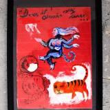 tegninger, dyr, børnevenlige, figurative, surrealistiske, kroppe, natur, mennesker, kæledyr, vilde-dyr, blå, røde, akryl, artliner, papir, andre-medier, katte, dekorative, ansigter, interiør, bolig-indretning, naive, underlig, Køb original kunst og kunstplakater. Malerier, tegninger, limited edition kunsttryk & plakater af dygtige kunstnere.